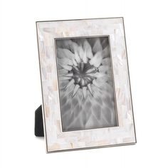 """Mother Of Pearl Mosaic Frame 4"""" X 6"""""""