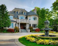 2 story house with driveway