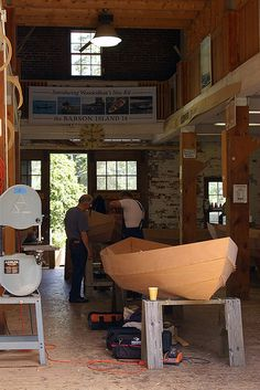 #28 Maine Thing To Do- Build your own Boat!