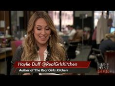 ▶ Haylie Duff Talks Cooking With Hilary | HPL - YouTube