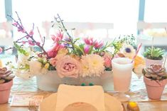 Watercolor is a perfect wedding theme for a spring or summer wedding – so delicate, so creative, so artful! Take your favorite shades and incorporate their slight tones into wedding décor: invitations, save the dates, garlands...