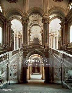 Luigi vanvitelli royal palace plan caserta italy 1752 1774 plans pinterest royal - Interior designer caserta ...