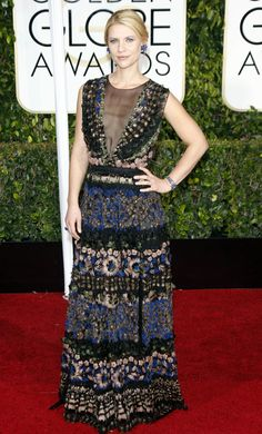 12 Game-changing Golden Globes dresses that redefine glam Claire Danes in Valentino