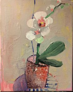 Orchid Original acrylic painting on canvas Not framed Ready to hang Thank you for supporting my work! Abstract Landscape, Landscape Paintings, Abstract Art, Painting Still Life, Still Life Art, Small Paintings, Flower Paintings, Love Oil, Picture On Wood