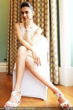 Actress Deepika Padukone shoots for Tissot