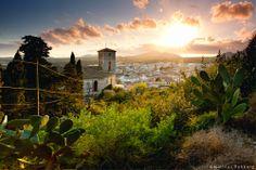 Mallorca, Spain, Arta, Cathedral, Sunset