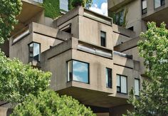A flat renovated by a pair of fashion insiders breathes new life into architect Moshe Safdie's iconic Habitat '67 building.