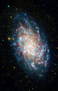 M33, one of our closest galactic neighbors, is about 2.9 million light-years away in the constellation Triangulum, part of what's known as our Local Group of galaxies. - Credit: NASA/JPL-Caltech