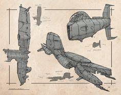 Ship Design Linework, René Aigner on ArtStation at http://www.artstation.com/artwork/ship-design-linework