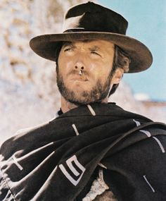 Cowboy In Movies -Clint Eastwood, His spaghetti westerns. Clint Eastwood Poster, Actor Clint Eastwood, Westerns, Troll Meme, I Love Cinema, Chuck Norris, Western Movies, Cowgirls, Best Actor
