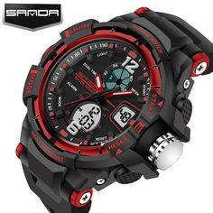 SANDA Sport Watch Men 2017 Clock Male LED Digital Quartz Wrist Watches Men's Top Brand Luxury Digital-watch Relogio Masculino