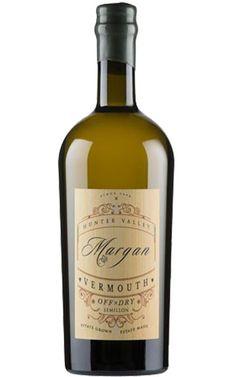 Margan Off Dry Vermouth 2016 Hunter Valley - 6 Bottles Whiskey Bottle, Wines, Alcohol, Herbs, Bottles, Rubbing Alcohol, Herb, Liquor, Medicinal Plants