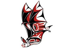 images results for northwest art Native Symbols, Native American Symbols, Native American Design, Native Design, Native Art, Haida Kunst, Haida Art, Tribal Art Tattoos, Animal Tattoos