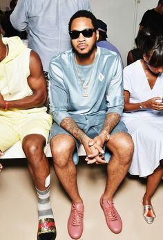 Carmelo Anthony. Nba Fashion, Second World, Sports, Style, Hs Sports, Swag, Sport, Outfits