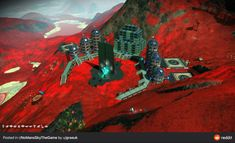 No Man's Sky, Base, Painting, Painting Art, Paintings, Painted Canvas, Drawings