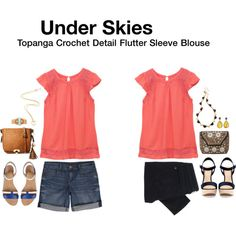 My ideal outfits, just a different color top, love the details