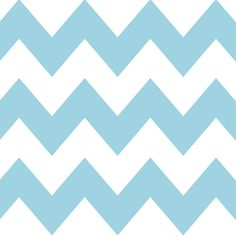 (99+) Chevron Aqua/White Removable WallPaper from WallCandy Arts