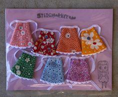 Petite Blythe  Rainbow of Retro Print Dresses by StitchWhipped