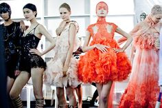 Fashion inspiration: Sea creatures in Alexander McQueen's Spring/Summer 2012