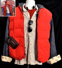 Back To The Future Marty Costume