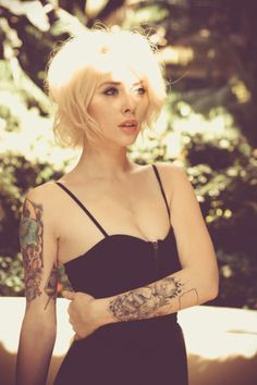 Nice Girl With Tattoos - See Best Tattoos Images and Designs! Click Here http://zombieboy.ca