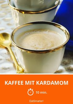 Kaffee mit Kardamom - smarter - Zeit: 10 Min. | eatsmarter.de