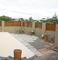 How To Cover Concrete Block Fence Concrete Block Or