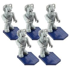 Doctor Who Character Building Cyberman Army Builder 5-Pack