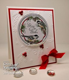 Th-INK-ing of You: Chickadee Shaker Card