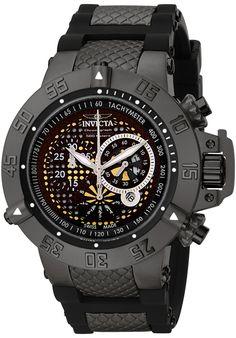Invicta Men's Subaqua Chronograph Black Rubber and Stainless SteelInvicta 6043 Watch