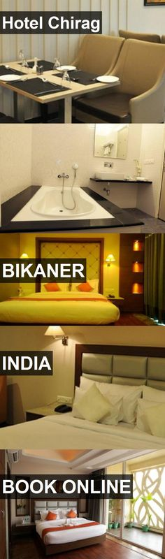 Hotel Chirag in Bikaner, India. For more information, photos, reviews and best prices please follow the link. #India #Bikaner #travel #vacation #hotel