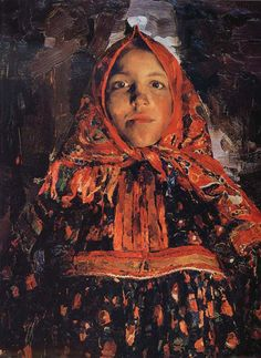 Filipp Malyavin Filipp Malyavin (Russian, 1869-1940) studied under the great Ilya Repin, Patrick Saunders Fine Arts