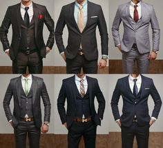 Nothing better than tailored suits on a man