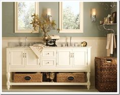 pottery barn bathroom - Google Search