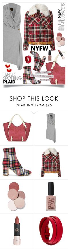 """Daywear"" by hani-bgd ❤ liked on Polyvore featuring Desigual, Vivienne Westwood Anglomania, Polly Plume, rag & bone/JEAN, LunatiCK Cosmetic Labs, Kester Black, Tom Ford, BaubleBar, contestentry and NYFWPlaid"