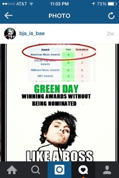 THis is why I love Green Day