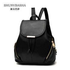 =>>Save onWomen's Soft Pu Leather Backpacks Fashion School Bags For Teenage Girls Ladies Black Backpacks Travel Bags Female BackpacksWomen's Soft Pu Leather Backpacks Fashion School Bags For Teenage Girls Ladies Black Backpacks Travel Bags Female Backpacksreviews and best price...Cleck Hot Deals >>> http://id574928036.cloudns.ditchyourip.com/32712616715.html images