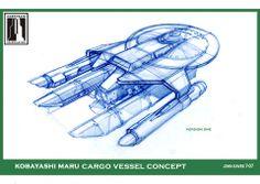 Kobayashi Maru concept for Star Trek XI by John Eaves