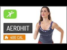 Aula de HIIT + Ginástica Aeróbica, Aula de Aerohiit Intermediário #13 até 400 kcal - YouTube