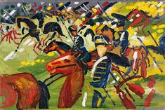 August Macke, 1913.  Exhibition at Thyssen Bornemisza Museum presents an analysis of the concept of the 'unfinished'