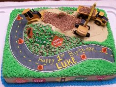 Construction cake — Children's Birthday Cakes