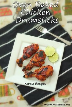 A simple dinner like Baked Chicken Drumsticks straight from the oven sprinkled with a squeeze of lime and served with a salad makes me satisfied. I have made Breaded Chicken Drumsticks a few times … Spicy Baked Chicken, Baked Chicken Drumsticks, Breaded Chicken, Baked Chicken Recipes, Tandoori Chicken, Kerala Chicken Recipes, Kerala Recipes, Indian Food Recipes, Easy Recipes