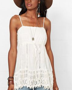 Crocheted Lace Camisole - Shop All Apparel - Ralph Lauren France