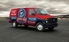 Vehicle wrap design for Certified Heating and Cooling, a HVAC company in Naples and Fort Myers, Florida. - NJ Advertising Agency, NJ Ad Agency, NJ Web Design, NJ Logo Design, Website Design New Jersey, NJ Graphic Designer, New Jersey Logo Design, Graphic Design NJ | Graphic D-Signs, Inc. #truckwraps #advertising #design #graphicdesign #logo #branddevelopment #fleetbranding #vehiclewraps