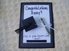 Graduation Gift - the diploma is money :)