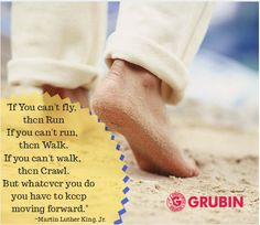 Run, walk, crawl.. Do whatever you can.. keep on moving forward.. Wish you a very Happy Monday.. Let's have a Fruitful week Together..  #Grubin #quotes #inspirationalquotes #comfyshoes