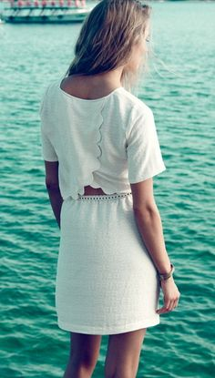 Pretty details on this dress from Madewell.