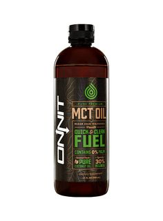 100% Pure Premium Mct Oil With Lauric Acid.