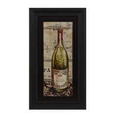 The French White Wine Framed Art Print features a bottle of white wine that you can hang with your collection. French White Wines, Wine Wall Art, First Time Home Buyers, Framed Art Prints, Whiskey Bottle, Wall Decor, Future, Wall Hanging Decor, Future Tense
