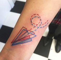 #tattoofriday - Tatuagens em 3D criadas pelo artista americano Winston the…